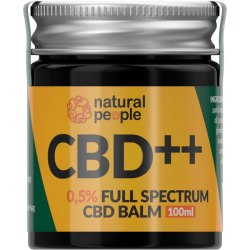 Natural People CBD balm 0,5% (100ml) - gratis verzending!