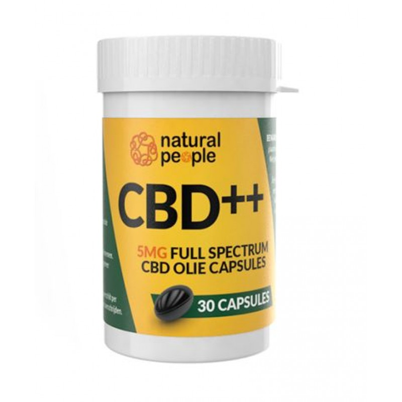 CBD softgel capsules 5 mg | Free delivery!