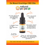CBD olie 4% (10 ML) Natural People